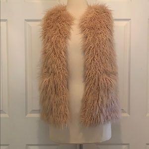 Zara Girls Faux Fur Vest